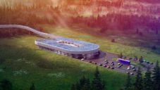 BIG navrhli ekologické testovací a certifikační centrum pro Hyperloop