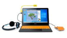 Dětský výukový počítačový set Kano si děti musí nejprve složit