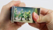 Japonský výtvarník vytvořil Flip Book s přáním veselých Vánoc a překvapením