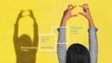 Pantone vyhlásilo šedou Ultimate Gray a žlutou Illuminating barvami roku 2021