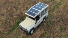 Jachtařská značka předělala pro africké safari starý offroad na solární pohon