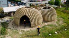 Wasp staví ekologické 3D tištěné domy z půdy získané v okolí domu
