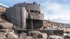 Na Islandu postavili malé veřejné geotermální lázně Guðlaug Baths