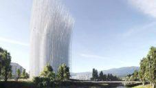 V Silicon Valley postaví vyhlídkovou věž z 500 bílých ocelových prutů
