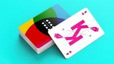 CMYK Playing Cards jsou české hrací karty pro grafiky a tiskaře