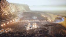 Nüwa je vize soběstačného města na Marsu pro 250 000 lidí
