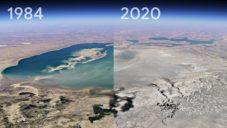 Google ukazuje změny planety Země od roku 1984 do roku 2020