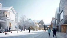 Kvůli propadům půdy se přesouvá velká část švédského města Kiruna