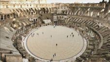 Itálie vybaví Římské koloseum unikátní shrnovací dřevěnou podlahou
