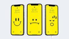 Britský grafik navrhl sérii pozadí pro iPhone ukazující míru jeho nabití