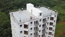 V Číně postavili desetipatrový prefabrikovaný bytový dům za jediný den