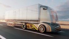 Gaussin ukazuje první modulární vodíkovou platformu pro nákladní vozy