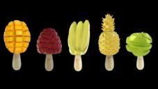 Stoyn vyrábí ovocné sorbetové nanuky s tvary pravého ovoce
