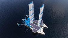 Organizace SeaCleaners vyvinula loď Manta čistící moře od odpadu