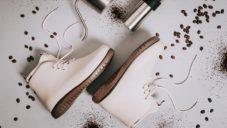 XpreSole Panto jsou nepromokavé boty vyrobené z kávového odpadu