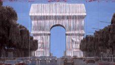 V Paříži zabalí na 14 dní Vítězný oblouk podle dávného návrhu Christa