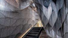 Kengo Kuma navrhl pro Casa Batlló od Gaudího schodiště zdobené řetězy
