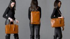 La Mansio je modulární zavazadlo kombinující nejen tašku s batohem