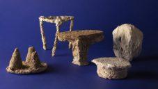 Erco Lai vyrobil extravagantní kolekci nábytku z vodního kamene