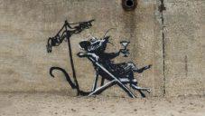 Banksy se vydal na prázdniny k moři a vyzdobil město Lowestoft