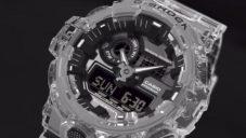 Casio přichází se sérii transparentních hodinek G-Shock