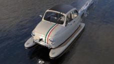 La Dolce je motorový člun vyrobený z legendárního Fiatu 500