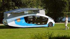 Solární energií poháněné auto Stella Vita ujede za slunný den až 730 kilometrů
